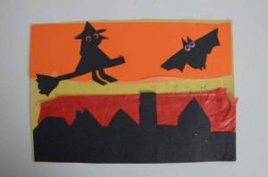 silhouette halloween pictures