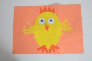 Egg Chick painting