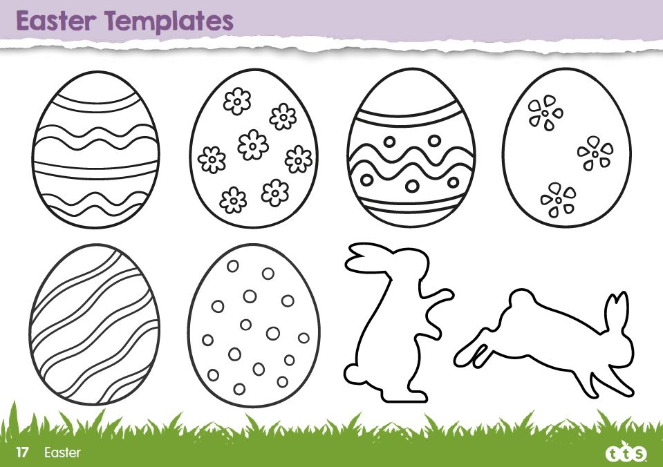 Easter Activity Template